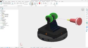 Projection Ranges control this Surface Project toolpath to machine the part correctly
