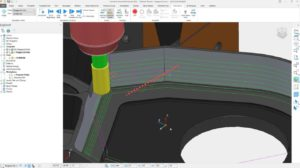 Staggered toolpath start points can improve machine motion and surface finish